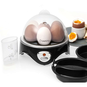 Savisto 3 in 1 Egg Boiler, Poacher & Omelette Maker UK Plug