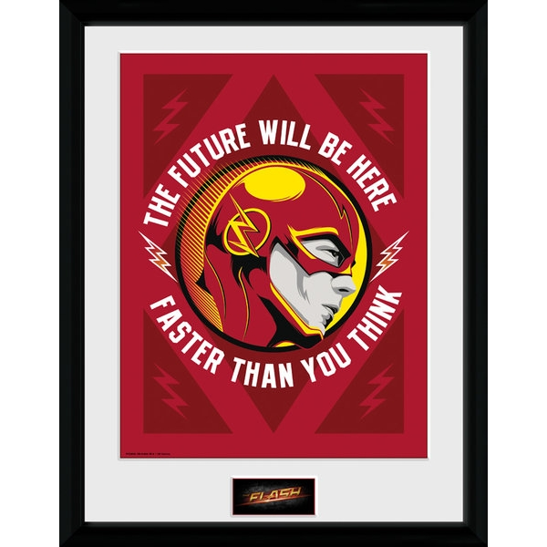 The Flash The Future Collector Print