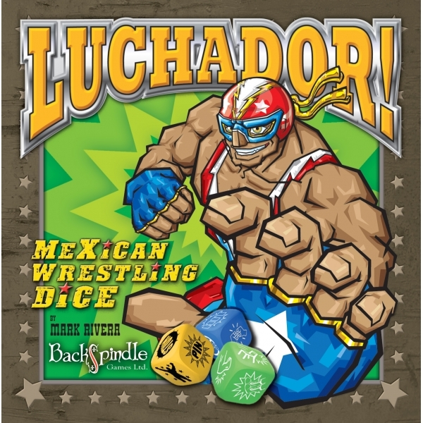Luchador! Mexican Wrestling Dice Board Game