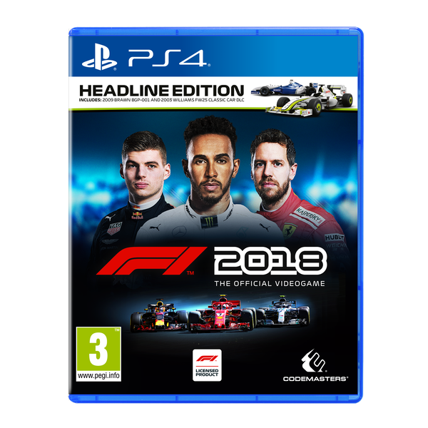 F1 2018 Headline Edition PS4 Game