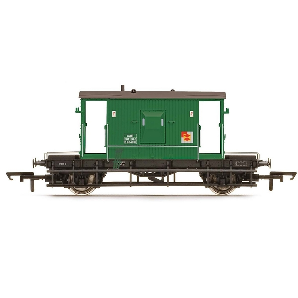 Hornby BR, Dia. 1/507 20T Brake Van, DB954812 - Era 8 Model Train