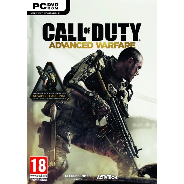 Call Of Duty Advanced Warfare PC Game (with Advanced Arsenal DLC)