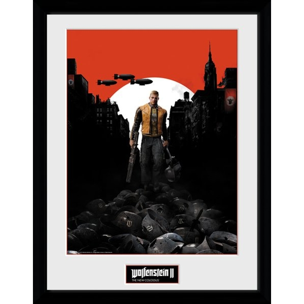 Wolfenstein 2 Collector Print