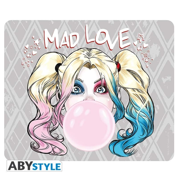 DC Comics - Harley Quinn Mad Love Mouse Pad