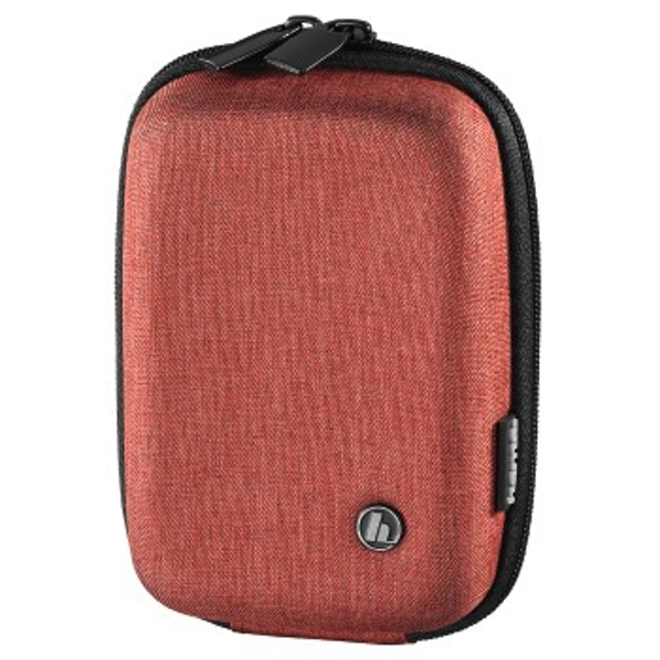Image of Hama Hardcase Trinidad Camera Bag 60 m Red Travel Bag 18 cm Red