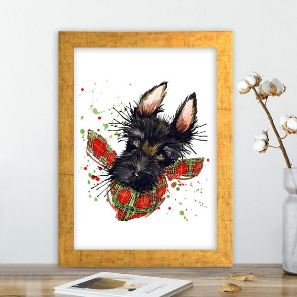 AC12291373483 Multicolor Decorative Framed MDF Painting