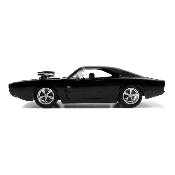 Fast & Furious - Furious 7 Dom's T1970 Dodge Charger R/T Die-cast Toy Muscle Car (Black)