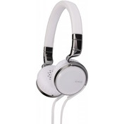 JVC HA-SR75S Esnsy On-Ear Headphones inc Mic Remote - White