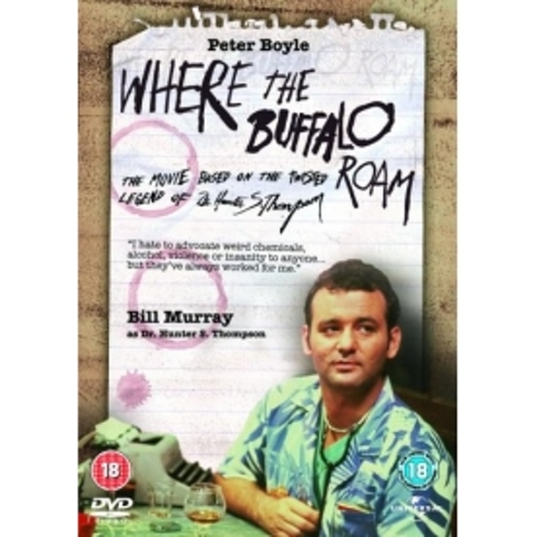 Where The Buffalo Roam DVD