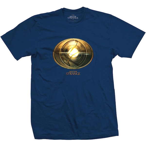 Marvel Comics - Doctor Strange Amulet Unisex X-Large T-Shirt - Blue