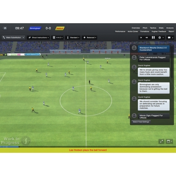 Football Manager 2013 PC &  Mac Game (Boxed and Digital Code) - Image 5