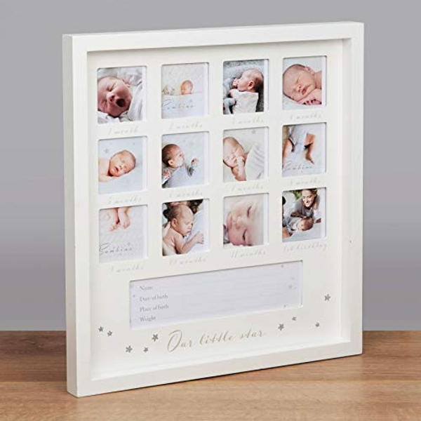 "2.5"" x 2.5"" - Bambino 1st Year Multi Frame - Little Star"