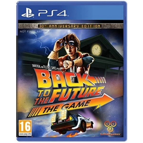 Back To The Future 30th Anniversary PS4 Game