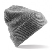 Heather Grey Heritage Knitted Beanie ZT