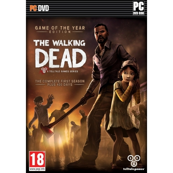 The Walking Dead TellTale Series Game of the Year (GOTY) Edition Game PC