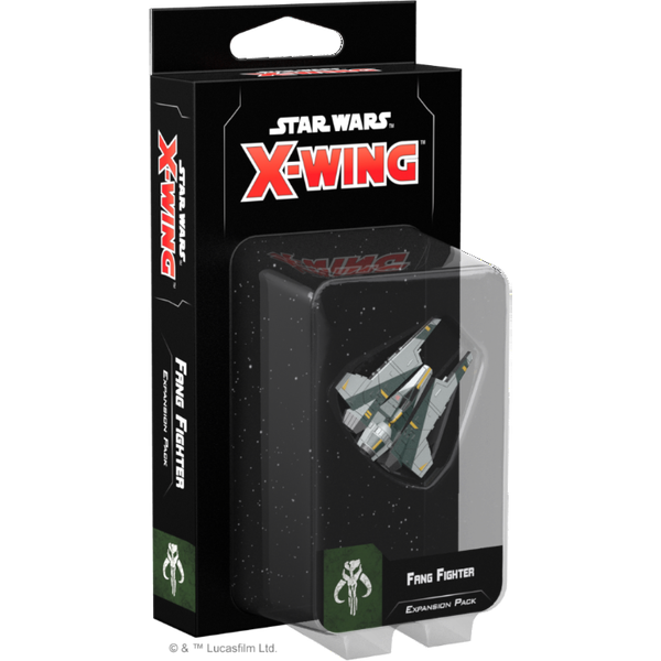 Star Wars X-Wing Second Edition Fang Fighter Expansion Pack Board Game