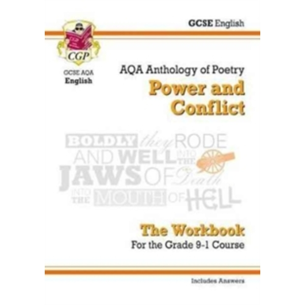 New GCSE English Literature AQA Poetry Workbook: Power & Conflict Anthology (Includes Answers)