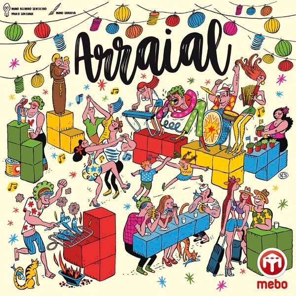 Arraial Board Game