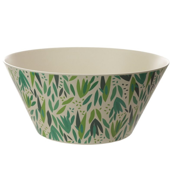 Bamboo Composite Willow Reusable Medium Salad Bowl