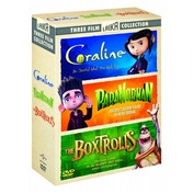 Coraline/Paranorman/The Boxtrolls DVD