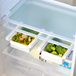 Pack of 4 Fridge Storage Drawers | M&W - Image 2