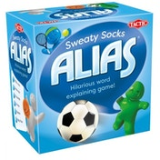 Snack Play Alias: Sweaty Socks Edition Board Game