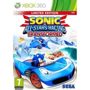 Sonic & All-Stars Racing Transformed Limited Edition Game Xbox 360