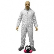 Mezco Breaking Bad Walter White White Hazmat Suit Action Figure