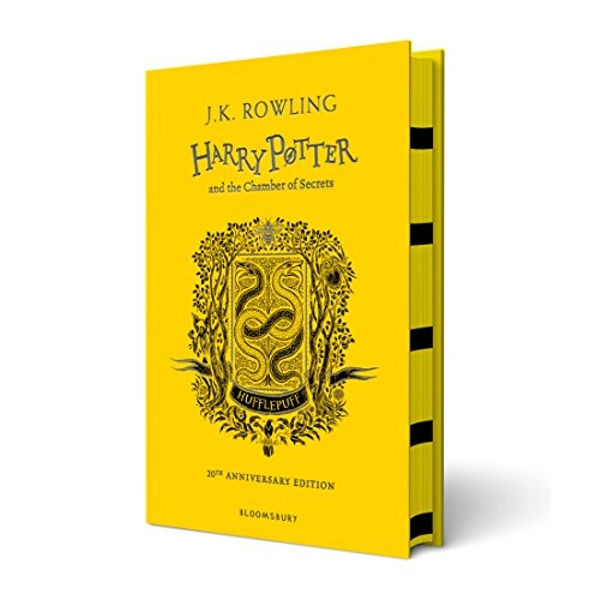 Harry Potter and the Chamber of Secrets - Hufflepuff Edition  Hardback 2018