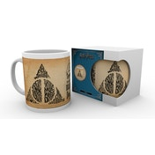 Harry Potter Deathly Hallows Words Mug