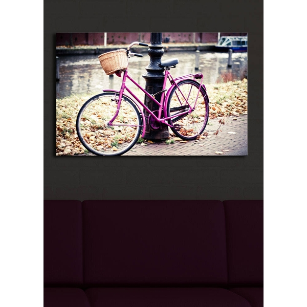 4570?ACT-21 Multicolor Decorative Led Lighted Canvas Painting