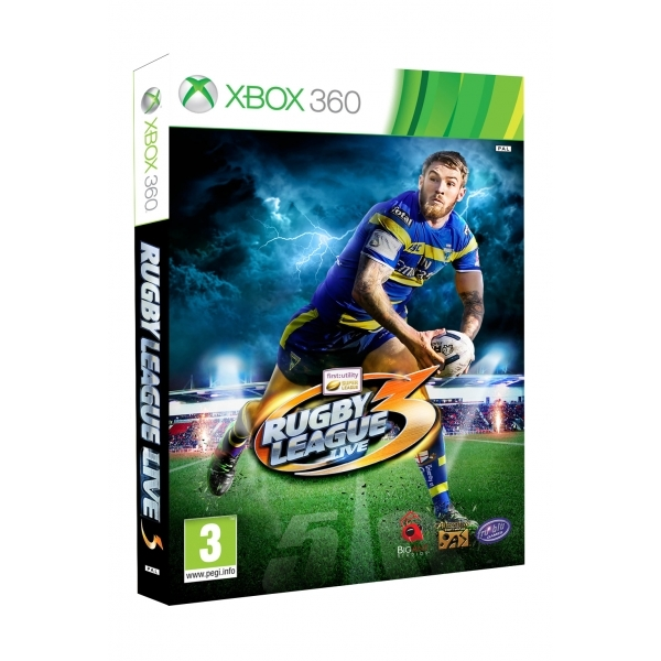 Rugby League Live 3 Xbox 360 Game