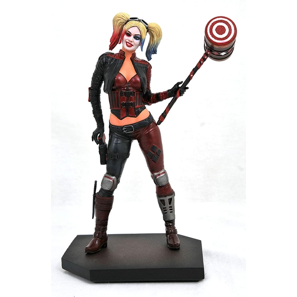 Diamond Select Toys DC Gallery: Injustice 2 - Harley Quinn PVC Statue