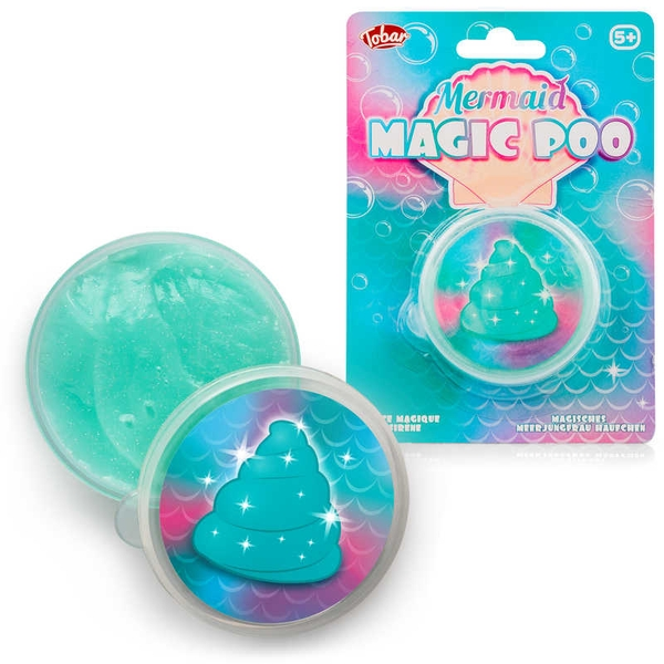Mermaid Magic Poo Putty