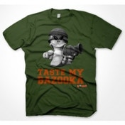 Worms Taste My Bazooka T-Shirt Large