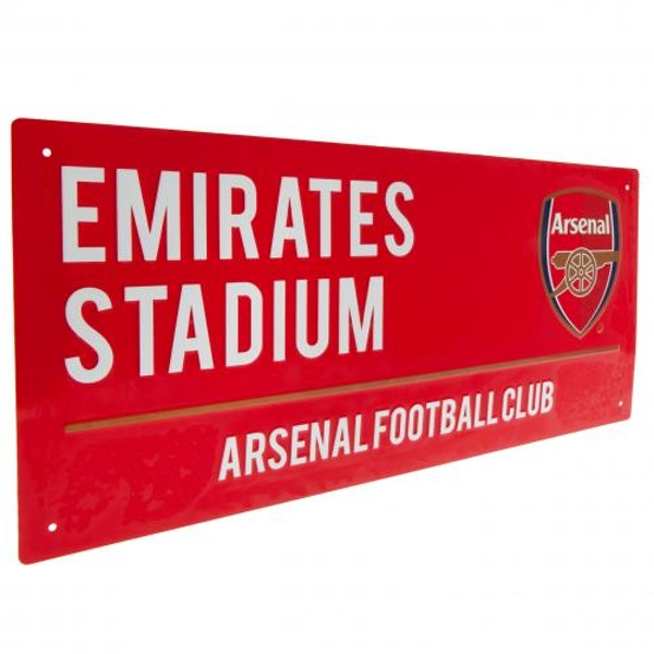 Arsenal FC Red Street Sign