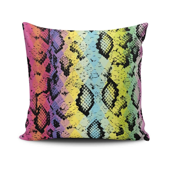 NKLF-239 Multicolor Cushion Cover