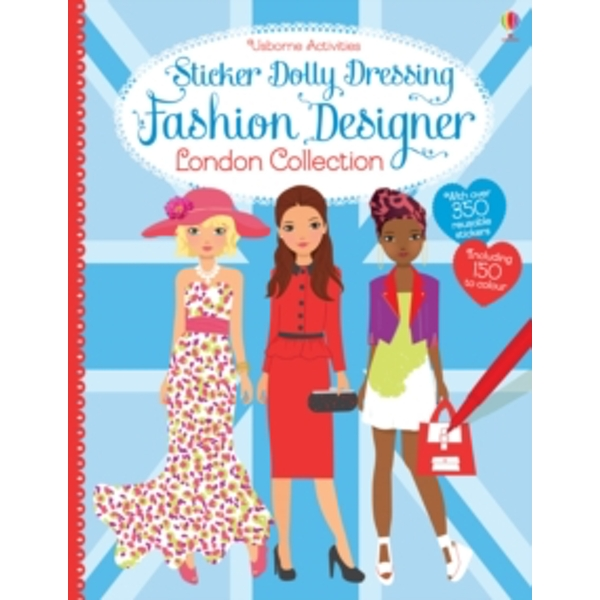 Sticker Dolly Dressing Designer London Collection