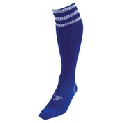 PT 3 Stripe Pro Football Socks LBoys Royal/White