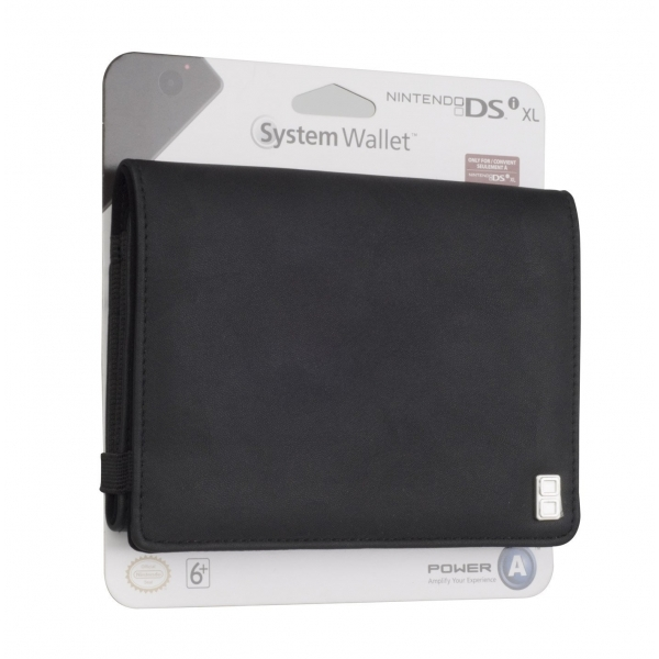 Nintendo Licensed XL System Wallet Black 3DS XL/DSi XL