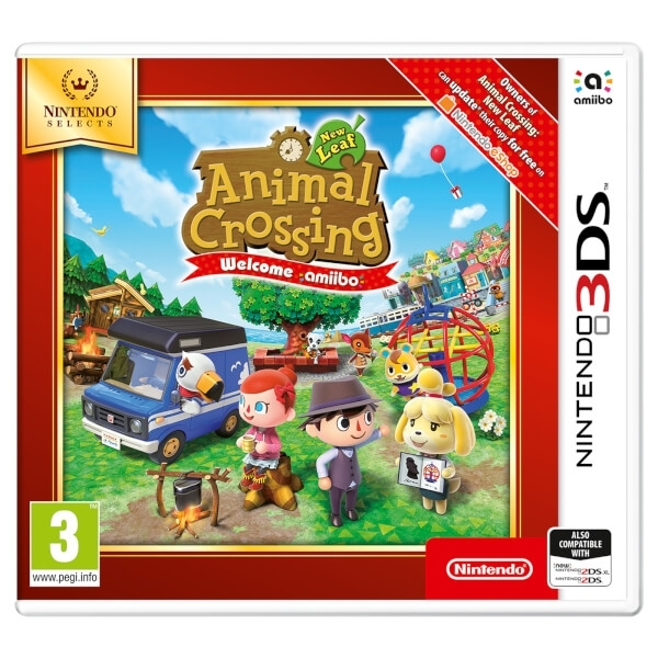Ex-Display Animal Crossing New Leaf Welcome Amiibo 3DS Game (Selects) Used - Like New
