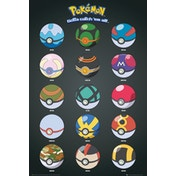 Pokemon Pokeballs Maxi Poster