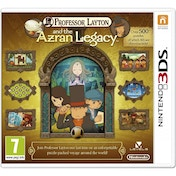 Professor Layton & And The Azran Legacy (Legacies) Game 3DS
