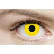Yellow 1 Month Halloween Coloured Contact Lenses (MesmerEyez XtremeEyez)