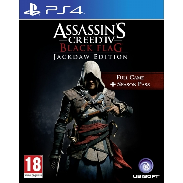 Assassin S Creed Iv Black Flag Jackdaw Edition Ps4 Game