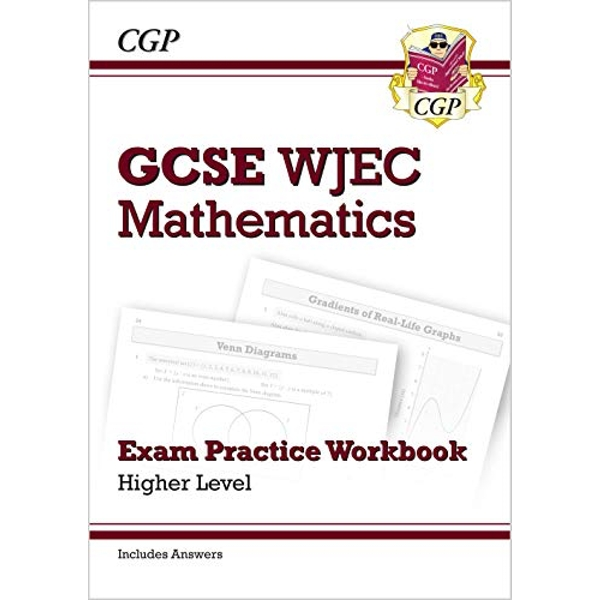 New WJEC GCSE Maths Exam Practice Workbook: Higher (includes Answers)  Paperback / softback 2018