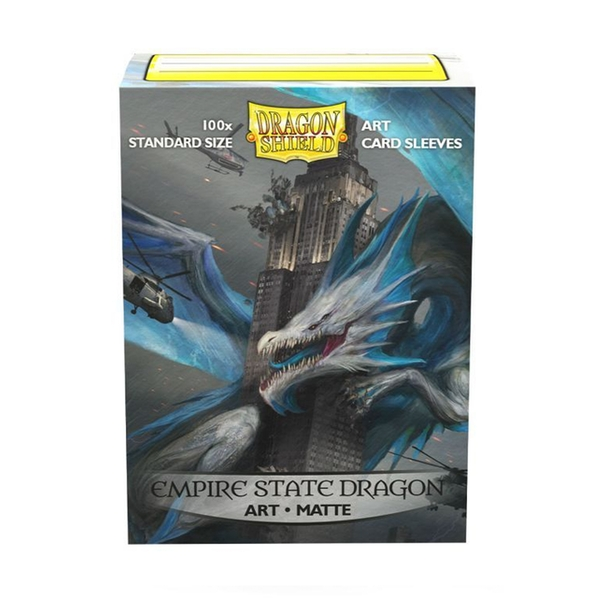Dragon Shield - Empire State Dragon Classic Art Sleeves - 100 Sleeves