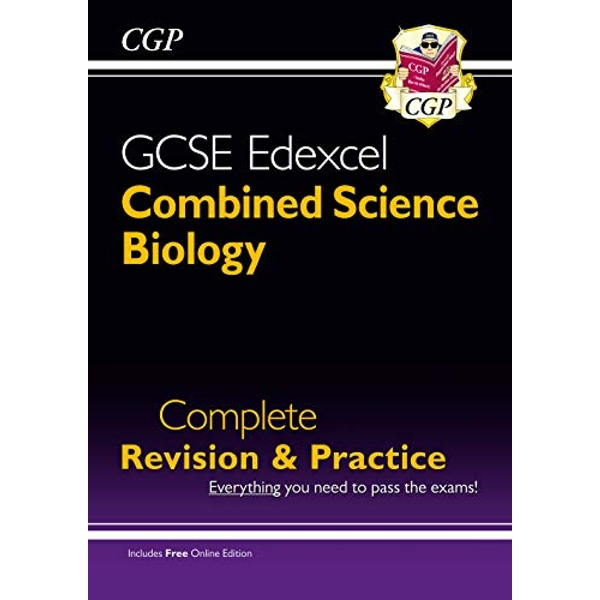 Grade 9-1 GCSE Combined Science: Biology Edexcel Complete Revision & Practice with Online Edn  Paperback / softback 2017