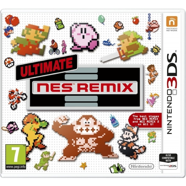 Ultimate NES Remix 3DS Game - Image 1