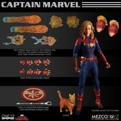Captain Marvel 1:12 Mezco Action Figure